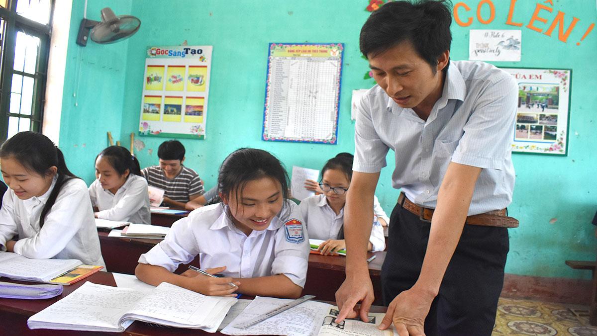 Thầy giáo có nhiều trò giỏi